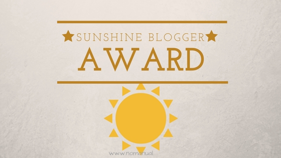 Text with sunshine graphic